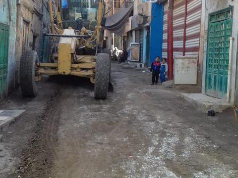 حبارير يتابع حملات النظافة بمركز أخميم شرق محافظة سوهاج