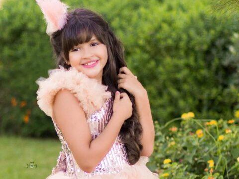 لينا اكدور تشارك في مسابقة ملكة جمال الموضة للاطفال