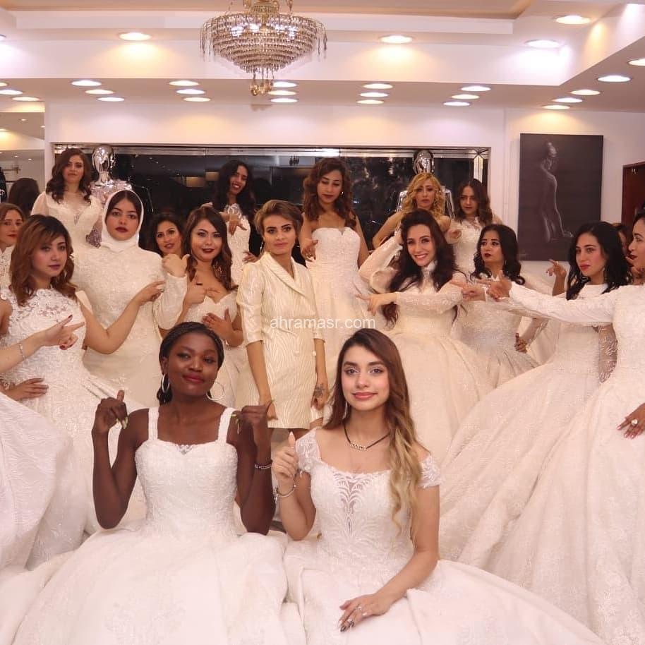 دكتورة رانيا عثمان تكتب متسابقات ملكة مصر الدولية بفساتين الزفاف