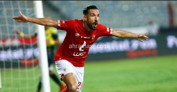 علي معلول- النادي الأهلي- الدوري المصري