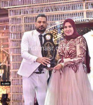تكريم مصممة الأزياء نجلاء ناصر بمهرجان بنت النيل الموسم الرابع