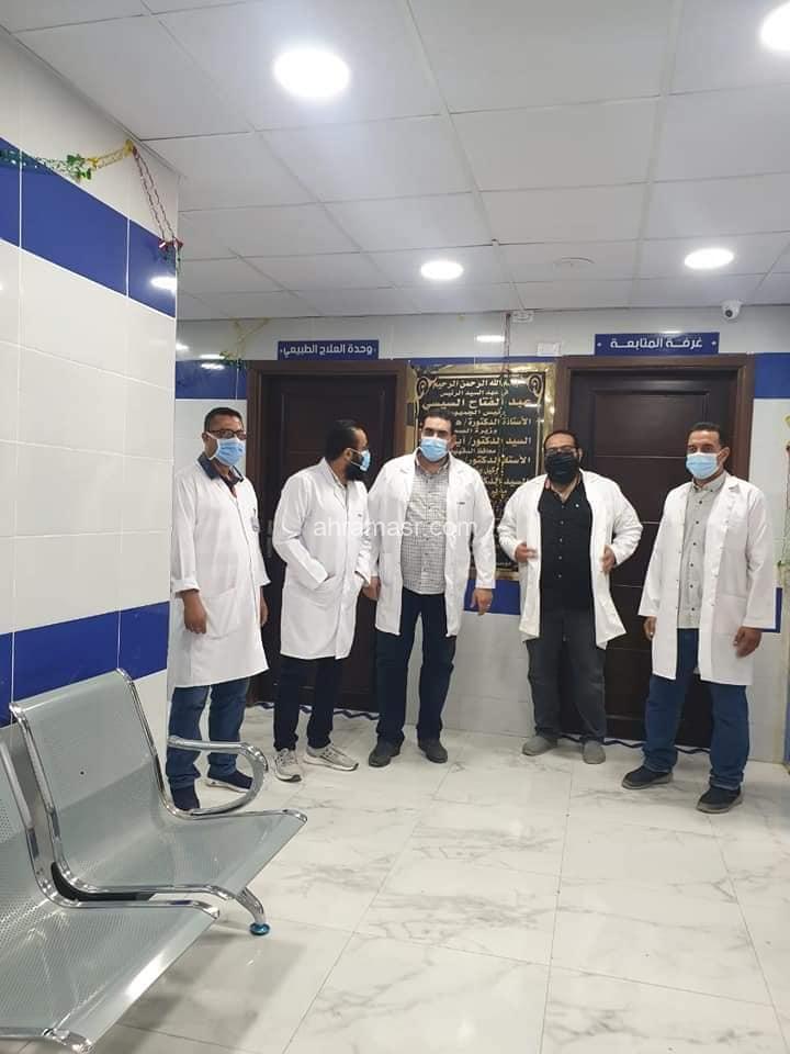 بالصور افتتاح قسم الكلى بمستشفى شربين في ثوبه الجديد